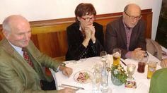 Hatten viel Spaß: Activity-Beauftragter Herbert Moser, Marion Van der Graft und Dr. Werner Betzler