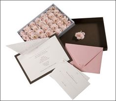 Love this #boxed #wedding #invitation set