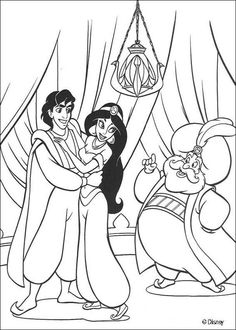 Jasmine Et Aladdin De Disney