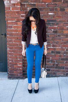 #OOTD: Blue Jeans