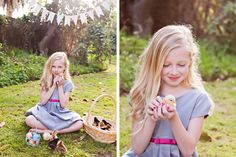 Happy Spring!! - Springtime Mini Sessions with Bunnies and Chicks. Loved her ideas for a shoot simple and so much fun!