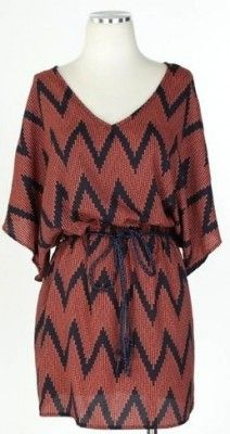 I'm loving the chevron trend in clothing right now. And I thought it was just for home... Silly, silly.