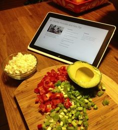 Tasty avocado and feta dip recipe |