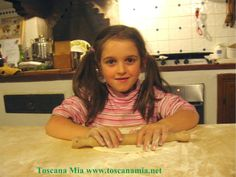 Cooking with kids in #Chianti #Tuscany
