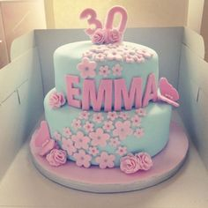 Cute #& Beautiful Birthday Cakes from Pinterest 🎂