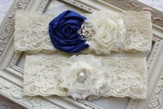 love this idea. Use lace from your mom's wedding gown to make the garters to wear for your wedding day-add a blue flower and you have something old, something new and something blue! : ) now how can I incorporate something barrowed???