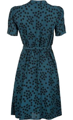 King Louie - Gaya Dress Chantilly Dragonfly Green