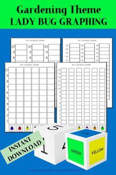 Garden Theme Activity Bundle - Teaching Thinking Minds Emergent Literacy, Literacy Worksheets, Math Teacher, Teacher Resources, Critical Thinking Skills, Gross Motor Skills, Garden Theme, Dramatic Play, Elementary Math
