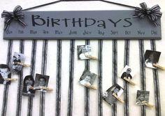 Birthday Calendar @LaVon Wilson by Felix Ng