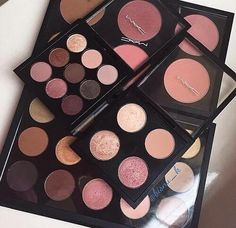 Mac Rose & chocolate palette