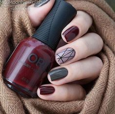 60 Stylish Nail Designs for Nail art is another huge fashion trend besides the stylish hairstyle, clothes and elegant makeup for women. Nowadays, there are many ways to have beautiful nails with bright colors, different patterns and styles. Elegant Nail Designs, Elegant Nails, Gel Nail Designs, Stylish Nails, Elegant Makeup, Nails Design, Burgundy Nail Designs, Nail Polish, Trendy Nail Art