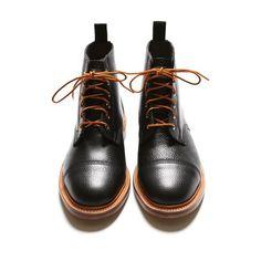 Woolrich Woolen Mills Cap Toe Boots