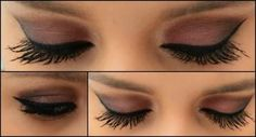 Beautiful eye make up look using natural pigments...love the soft purple.  Click the pin to learn more.