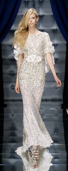 Zuhair Murad Fall-winter - Couture - www. Chanel Wedding Dress, Dior Wedding Dresses, Luxury Wedding Dress, Designer Wedding Dresses, Charlotte Ronson, Lela Rose, Haute Couture Gowns, Couture Dresses, Gareth Pugh