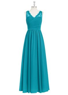 AZAZIE BEVERLY. Beverly is a chic floor-length A-line cut bridesmaid dress in…