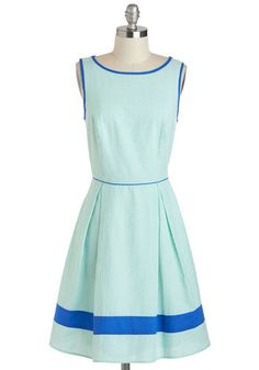 Attitude and Longitude Dress, #ModCloth