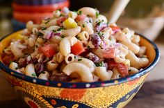 Something different next time I have to bring macaroni salad to a picnic (PW's Mexican-style mac salad)
