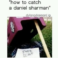 To funny for those of you who dont know Daniel sharman plays Isaac on teen wolf.