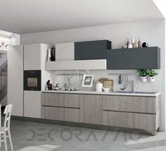 #kitchen #design #interior #furniture #furnishings комплект в кухню Cucine Lube Immagina, CLIN13NWG