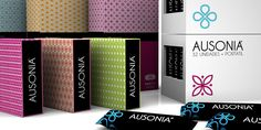 Ausonia: feminine pads; designed by Martha Robertson and Alfonso Sotelo