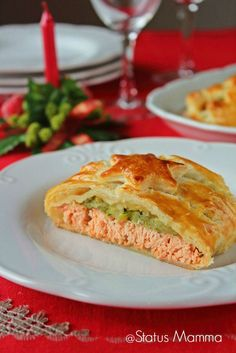 Salmon in crust Christmas recipe according to simple cooking … – Meat Foods Fish Recipes, Meat Recipes, Seafood Recipes, Cooking Recipes, Good Food, Yummy Food, Xmas Food, Fish Dishes, Cooking Time