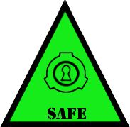 SCP Foundation: Safe Symbol (Warning) by Lycan-Therapy <<<< an okay person? Wear a safe badge today!
