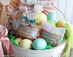 Easter Labels for Kids by Lia Griffith