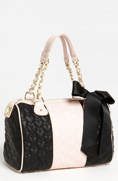Betsey Johnson 'Be My One  Only' Satchel available at Nordstrom