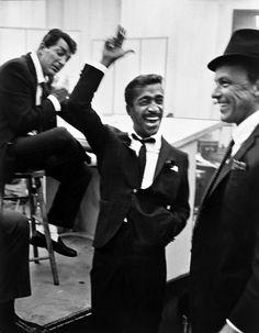 Dean Martin, Frank Sinatra, Sammy Davis Jr.