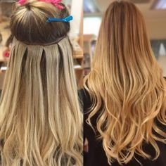 Hair extensions before after pictures at monaco hair salon in perfectress hair extensions del mar ca tape weft extensions last up to 8 weeks and are reusable contact vivace salon at for appointments pmusecretfo Gallery