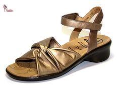 Ganter , Sandales pour femme Or Gold old-gold - Chaussures ganter (*Partner-Link)