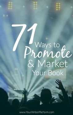 Do you know the most powerful way to market your book? Find out, plus 71 more book promotion strategies.:
