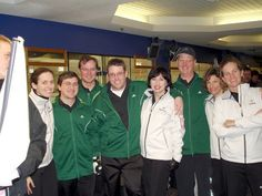 California Women's Club Nationals Curling Team with good friends Washington Men's Club Nationals Team, 2007