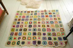 How To: Crochet a Granny Square Blanket
