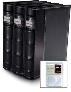 Black DVD Organization Binders 3 Pack - Holds 176 Discs (w/extra inserts) Review