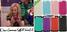 Dove (as Liv) had this iPhone case in Move A Rooney. Hybrid Rhinestone Bling Case Price: $6.99