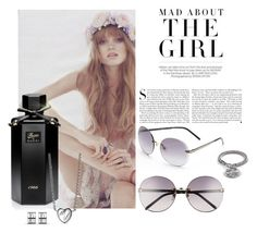 """Flower Girl"" by katelyn999 ❤ liked on Polyvore featuring beauty, Kershaw, Gucci, Flowers, gucci and beautyset"