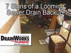 Signs of a Sewer Drain Backup http://www.drainworks.com/blog/2013/08/signs-of-sewer-drain-clog-backup/