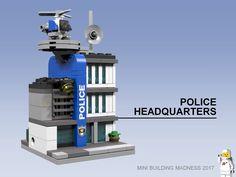 slfroden submitted a massive amount of mini modulars for the Rebrick contest. 15 builds were submitted but I included seven of my favorites. Check out the rest