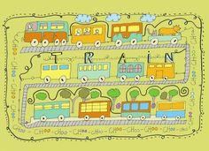 Illustration Friday - Train