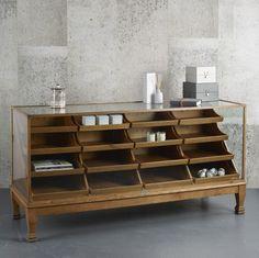Vintage Haberdashery Cabinet | Design Vintage