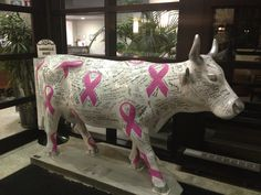 Cow Parade at Rex Hospital😊 Eat More Chicken, Cow Parade, Cows, My Mom, Elephant, Passion, Horses, Smile, Sculpture