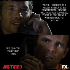relationship between raylan and boyd