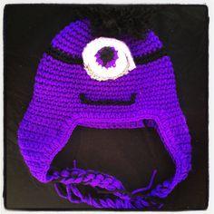 Purple minion hat  https://squareup.com/market/erica-alejandre-2