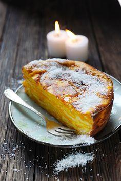 Les gâteaux invisibles c'est bon aussi quand ils sont visibles ! Gâteau presque invisible à la mangue...