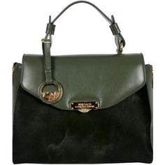b9ac0f01c3 Distinctive Pony and Leather Satchel. Dimensions -10 inches H x 12 inches W  x