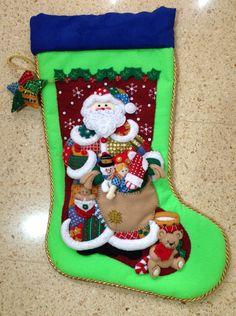 Bota Santa con regalos