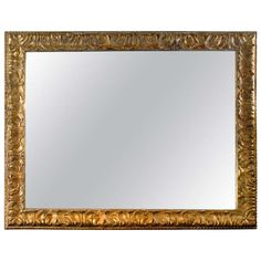 19th Century French Large Scale Mirror | See more antique and modern Wall Mirrors at http://www.1stdibs.com/furniture/mirrors/wall-mirrors