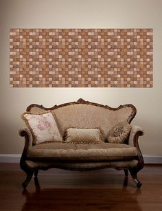faux leather wall tiles