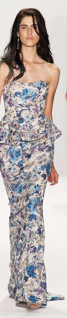 Badgley Mischka  Spring 2015 Ready to wear